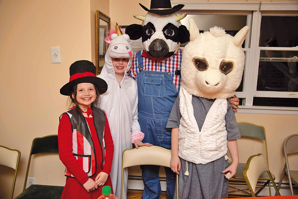 Purim In KGH